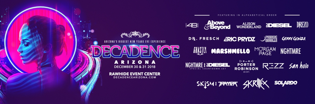 Decadence Arizona 2018